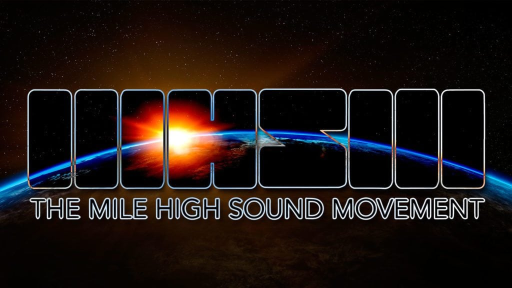 Fort Collins Graphic Design team helped Mile High Sound Movement with branding and redesigning their site.