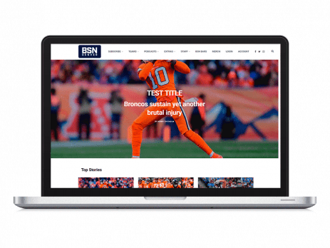 BSNDenver wordpress redesign by Lifebloom Creative