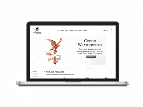The Weathervane WordPress Redesign by Lifebloom Creative