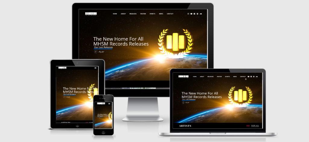 WordPress Designer for MHSM Records in Denver