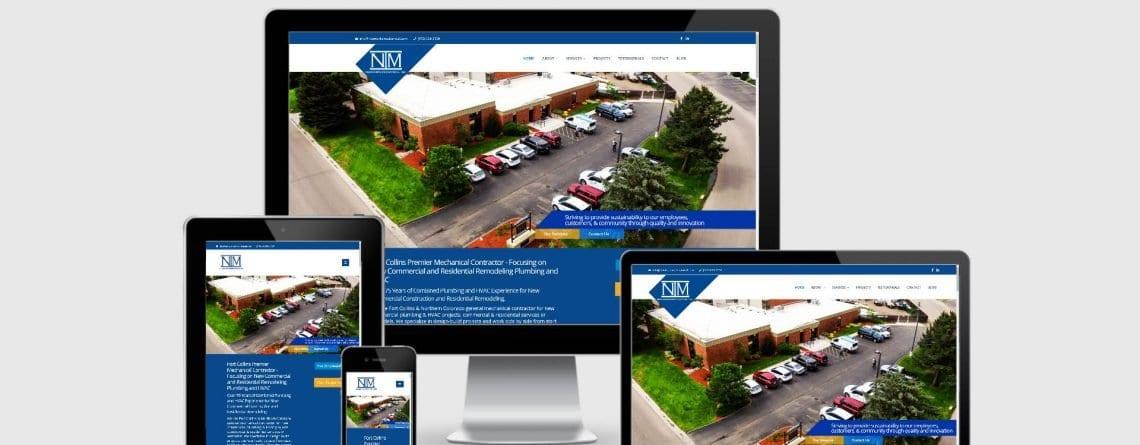 Neuworks Mechanical Fort Collins by Lifebloom Creative WordPress Design
